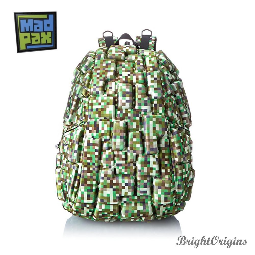 【MadPax】時尚造型包 綠樂高積木包(大包)