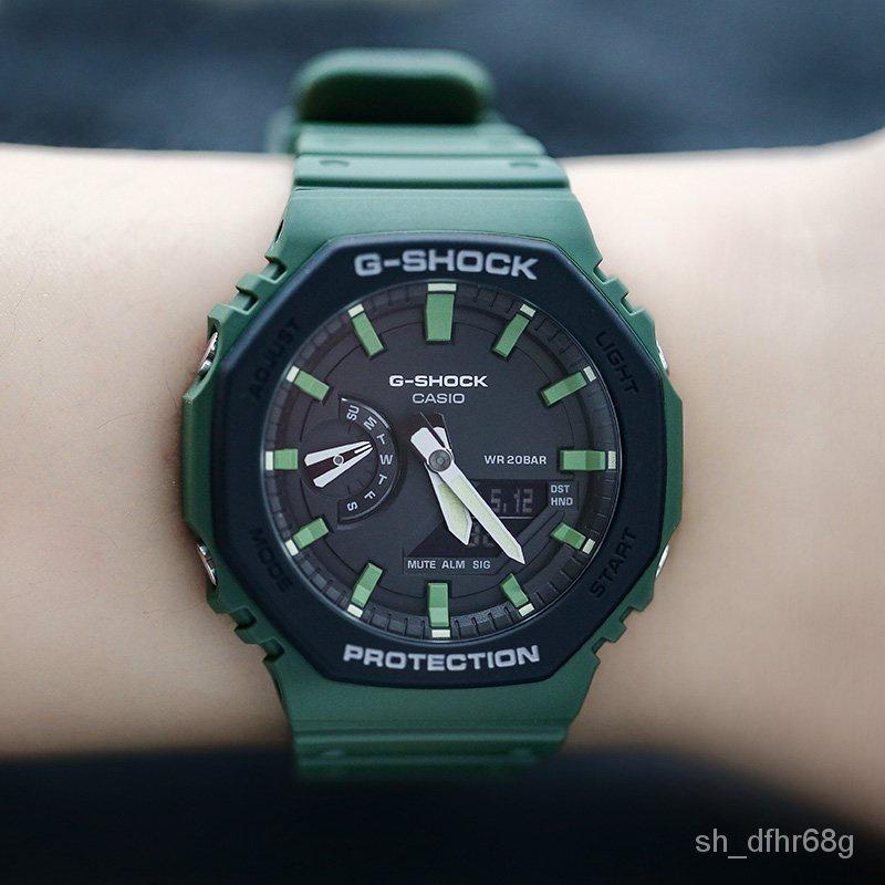 卡西歐手錶G-SHOCK GA-2110SU-3A/2100THB-7A/TH-1A/4A電子男腕錶 Fkfu