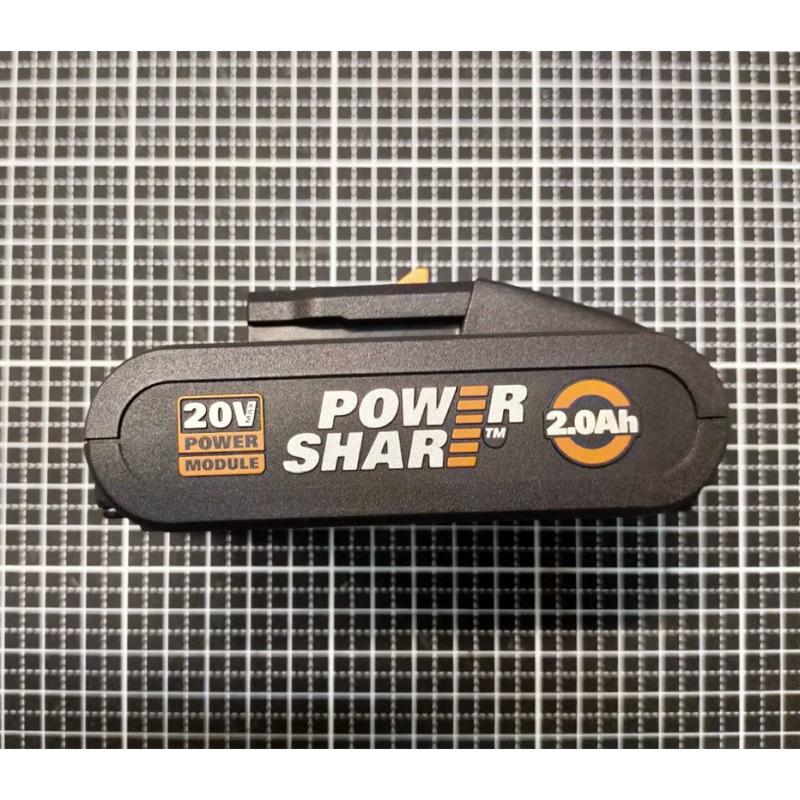 [現貨!有電量顯示!]威克士電池 WORX 橘版 小腳板 20V WX550適用  WA3551 威克士充電器