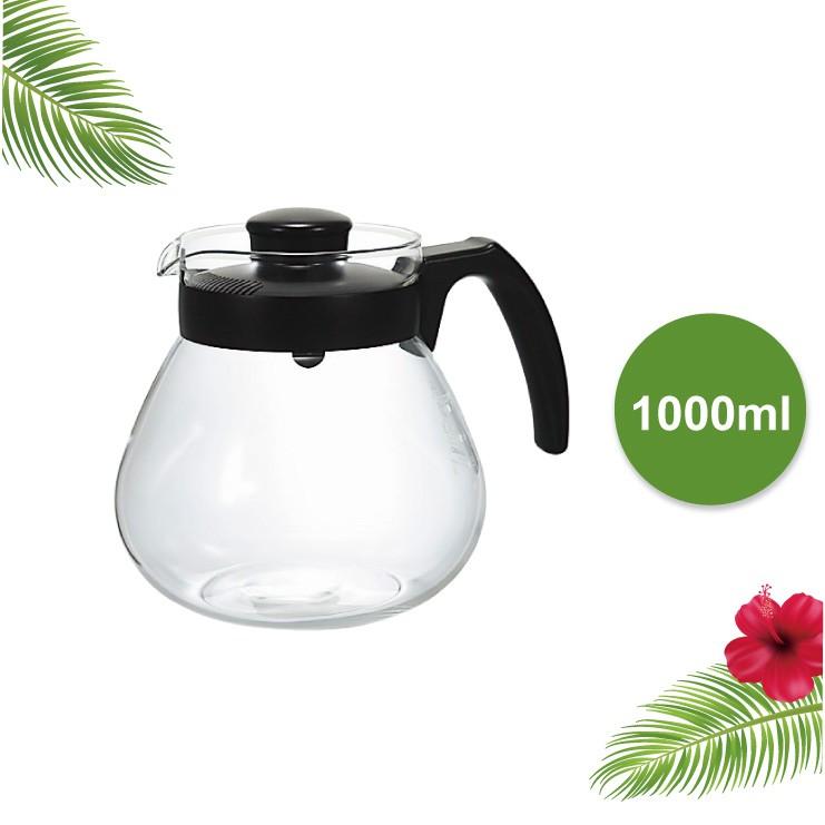 【HARIO】小球耐熱玻璃壺/1000ml/TC-100B