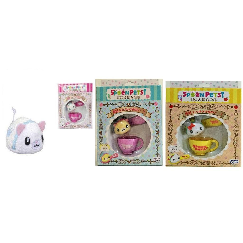 現貨 正版【SEGA TOYS】SPOON PETS 湯匙寶寶童話 小美人魚 白雪公主 灰姑娘
