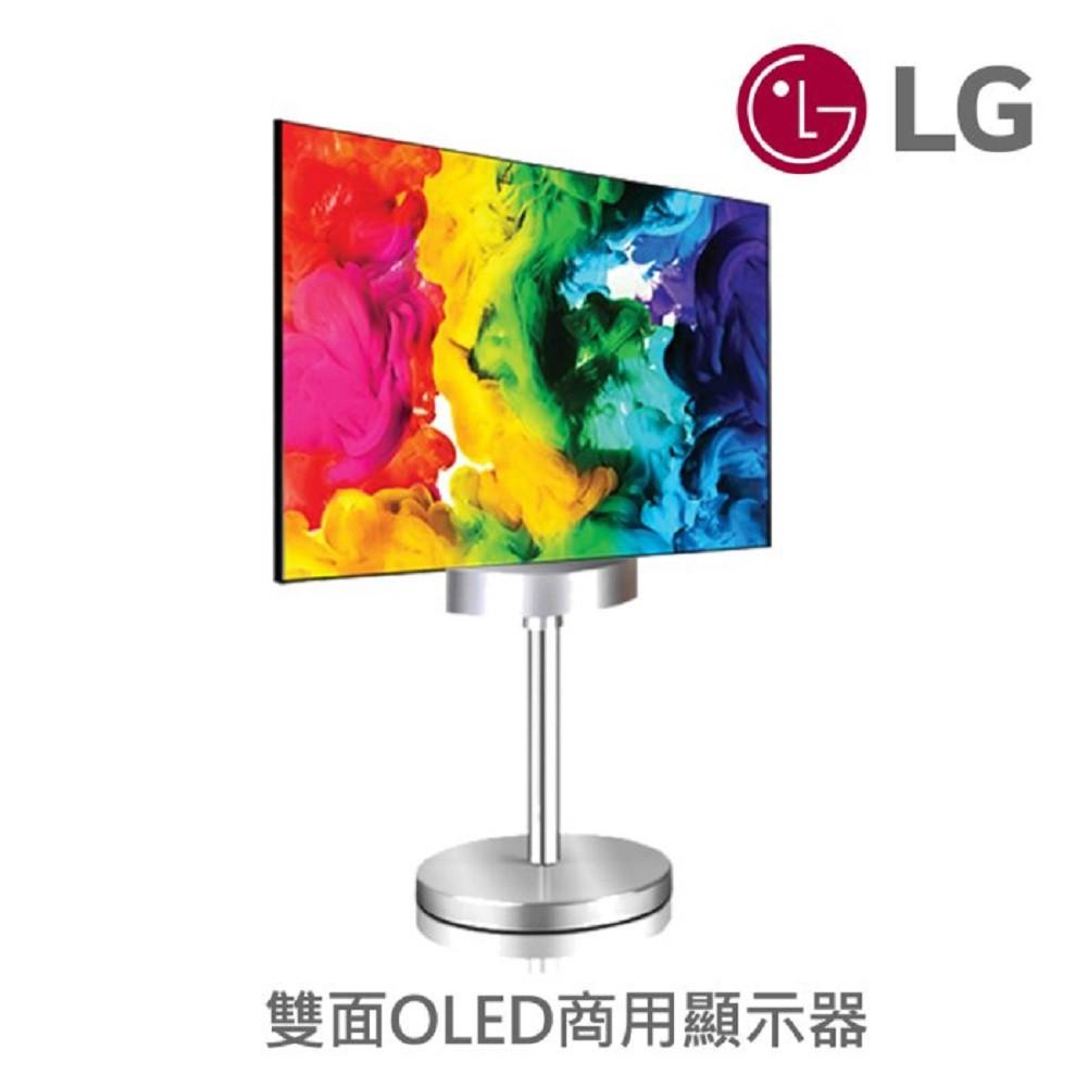 LG 樂金 WALLPAPER 雙面 OLED 顯示器 55EH5C