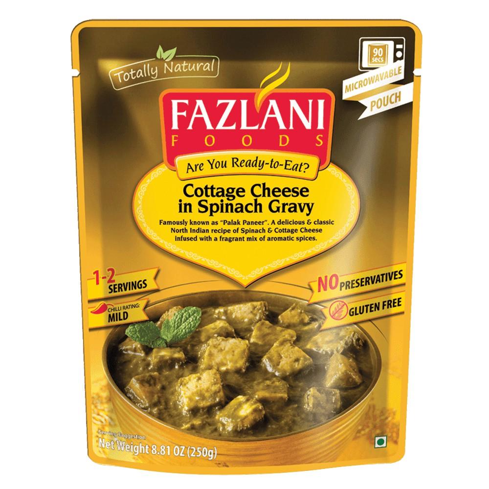 印度 Fazlani 菠菜燴起司 即食包 250g