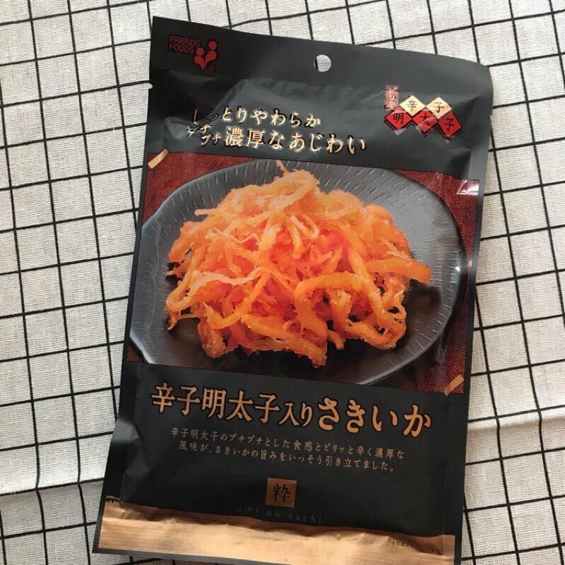 預購-日本辛明太子魷魚絲/宵夜好物/可樂啤酒/海膽醬油/泡菜干貝唇