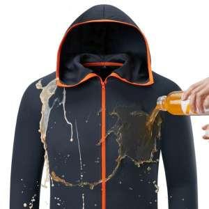 男士服裝科技疏水性服裝品牌列表休閒kleding戶外露營連帽外套冰絲防水