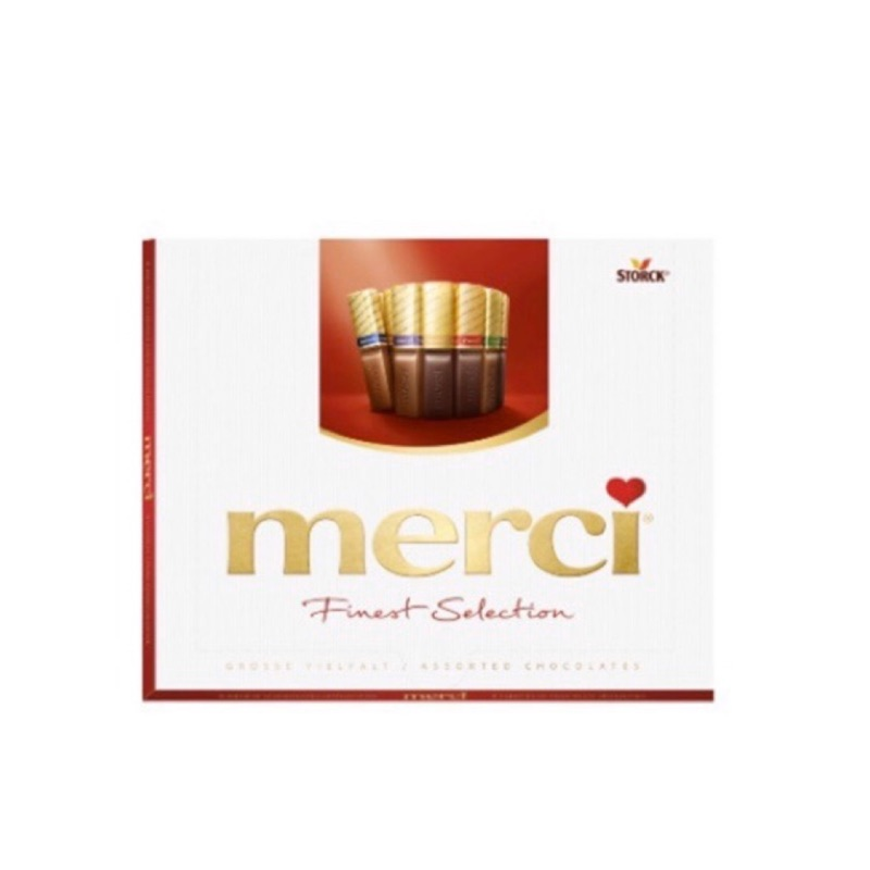 德國merci 蜜思巧克力禮盒(16入)250g