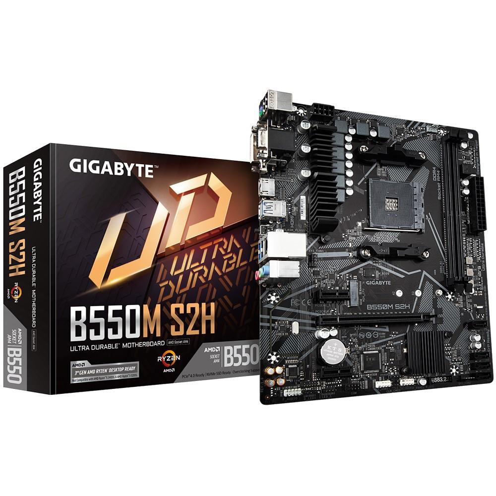 技嘉 B550M S2H 主機板 + AMD R5 3600 CPU