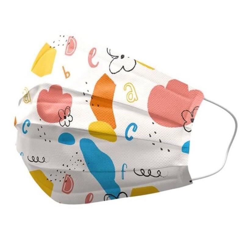 善存 兒童口罩 繽紛小花 聖誕季節 現貨 10入