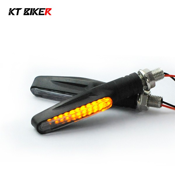 【KT BIKER】流水型方向燈(兩入) LED方向燈 機車 通用 摩托車 跑馬燈式方向燈〔LDL002〕