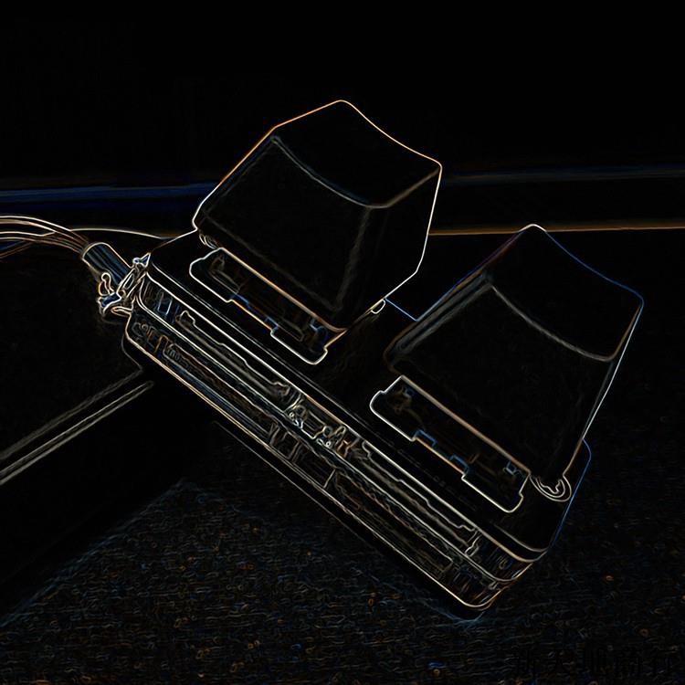SimPad Nano OSU迷你機械快捷鍵盤 觸盤音遊復讀鑰匙鏈遊戲鍵盤@新園商品行