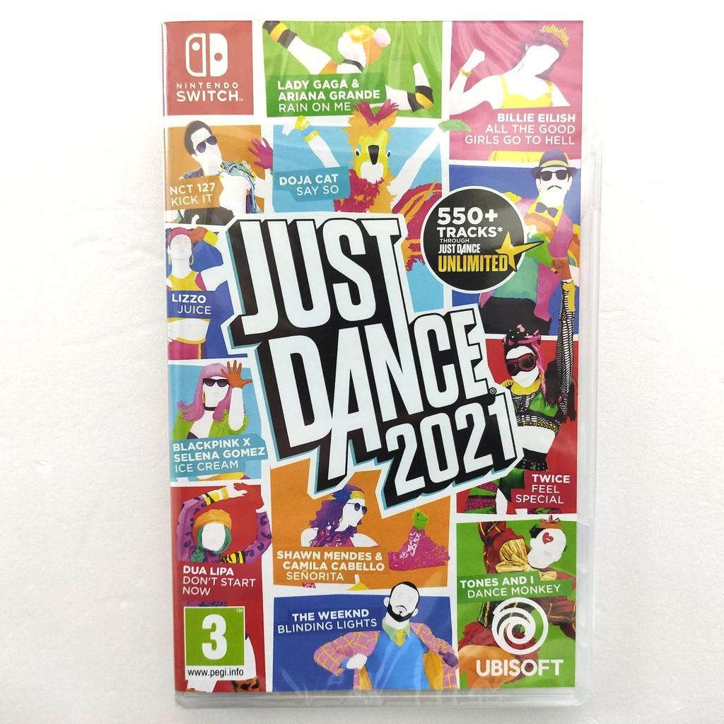 任天堂 NS Switch 舞力全開 2021 Just Dance 2021  多國語文有中文