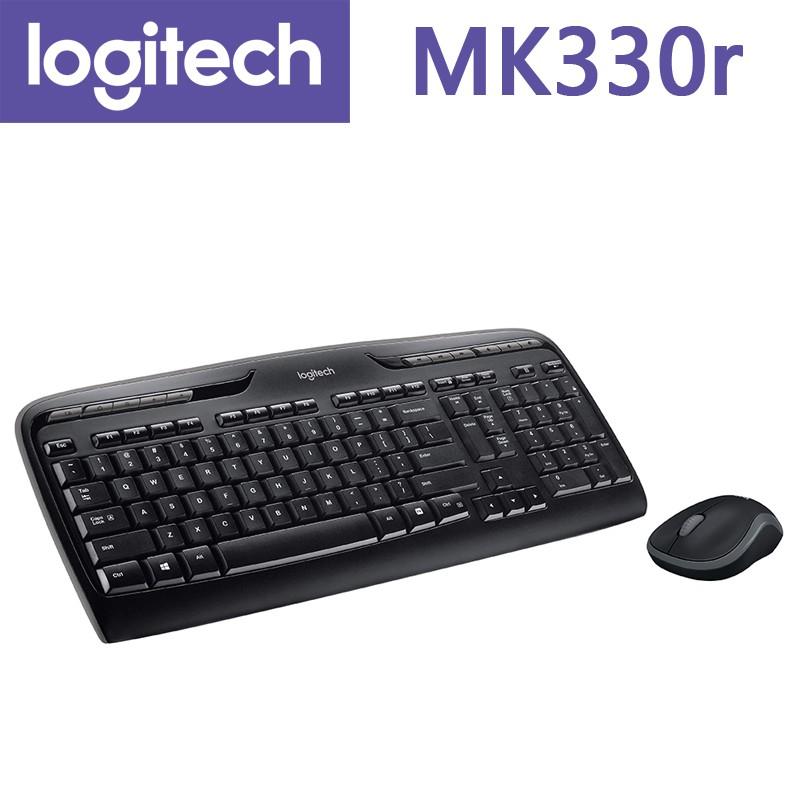 羅技 MK330R Logitech 無線鍵盤滑鼠組 [每家比]
