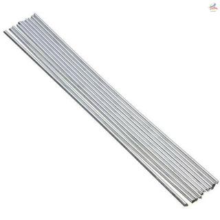 💎10pcs鋁焊絲低溫鋁焊絲實芯鋁焊條(實芯只能和鋁焊接) 50cm*3.2mm