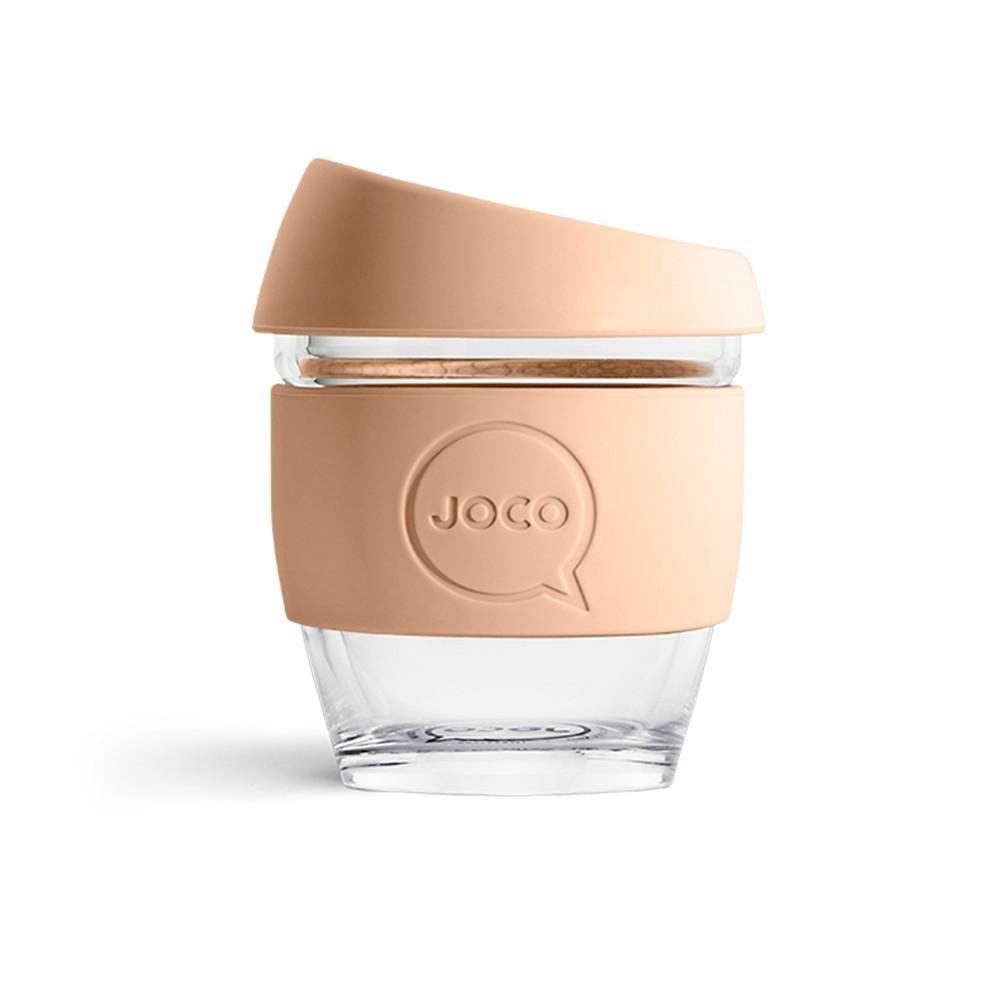 澳洲 JOCO 啾口玻璃隨行咖啡杯 4oz|118ml-六種顏色 啾口咖啡杯 隨行杯 手沖咖啡玻璃杯 外帶杯 聖誕禮物