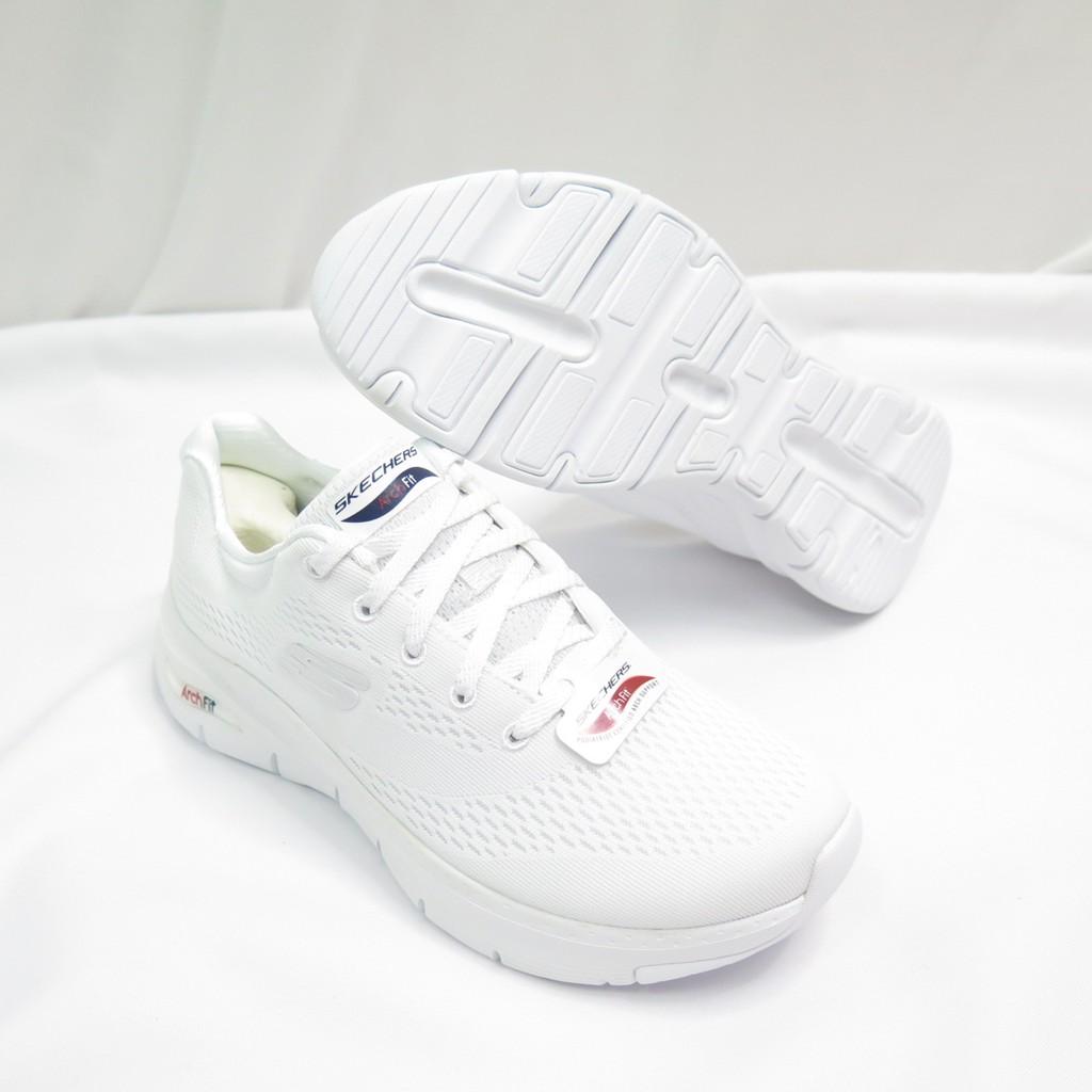 Skechers ARCH FIT-BIG APPEAL 女款 運動鞋 149057WNVR 白【iSport愛運動】