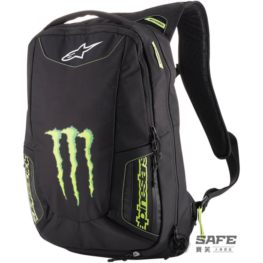 Alpinestars Monster MARAUDER BACKPACK 鬼爪聯名後背包 可揹安全帽