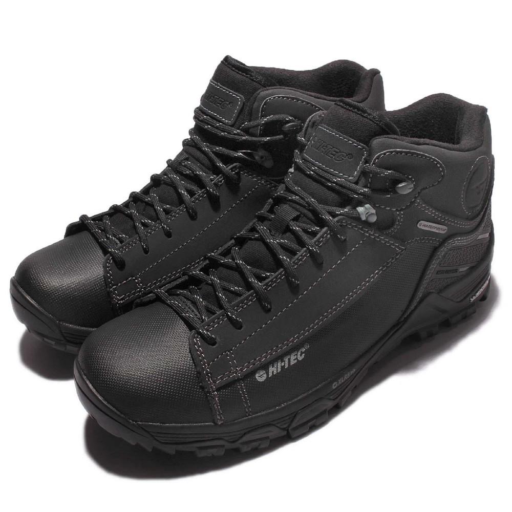 CodEX= HI-TEC TRAIL OX CHUKKA WP X 米其林 防水皮革戶外登山鞋(黑) 健行 英國 男