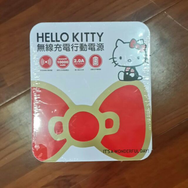 HELLO KITTY 無線充電行動電源