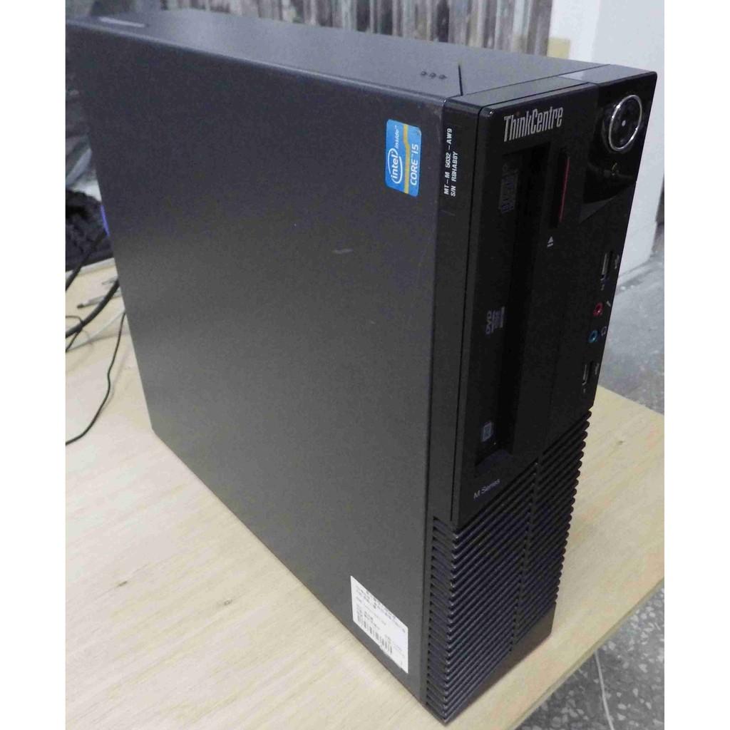 Lenovo聯想M81 SFF i5四核心CPU 1TB硬碟8G記憶體Win7系統平躺式桌機ThinkCentre