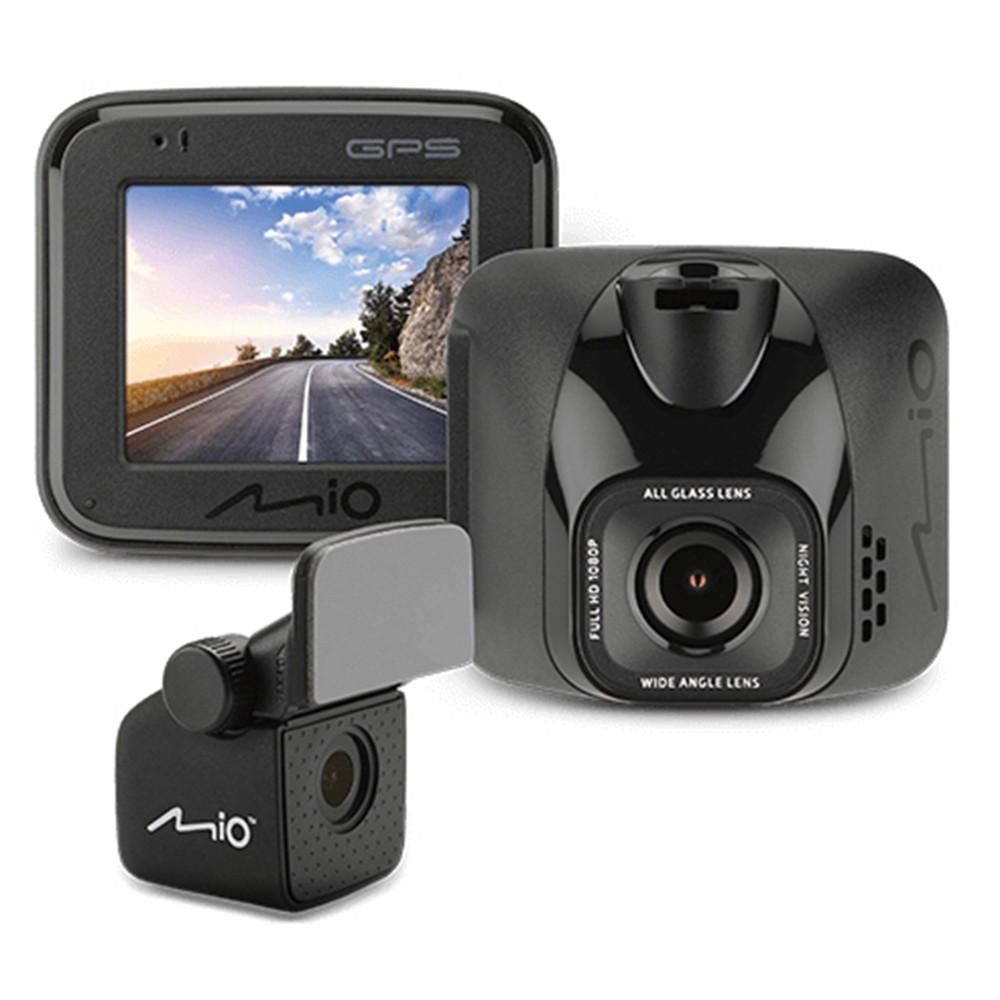 【現貨免運】 MIO MIVUE C570D 雙鏡行車記錄器 星光夜視 GPS測速 贈32G 送安裝+贈品