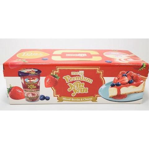 MEIJI 明治 雙醬洋洋棒餅乾-莓果&起司口味#costco代購