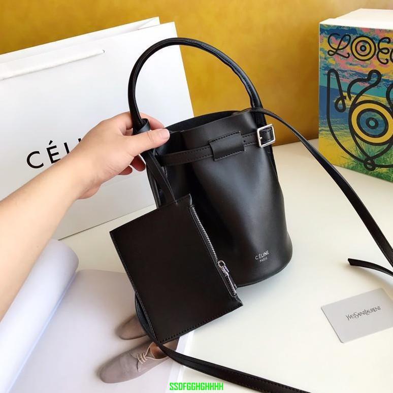 ¥-CELINE/賽琳 Celin Sangleseau Bag、Celin Twisted Cabas 水桶包 單