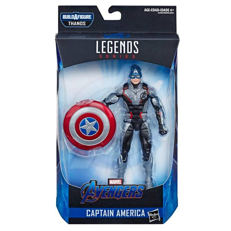 【超萌行銷】現貨 美版 Marvel Legends 漫威 傳奇 6吋 Endgame 終局之戰 美國隊長 隊服 BAF