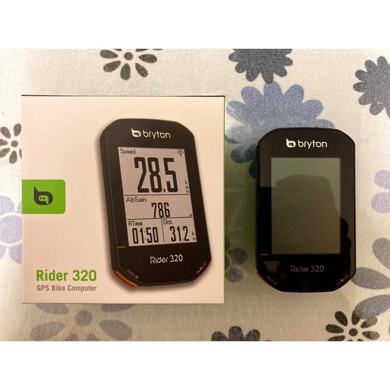Bryton Rider 320 車錶 自行車錶 表頭