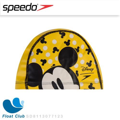 SPEEDO 兒童合成泳帽 Pace 米奇 SD8113077123 原價450元