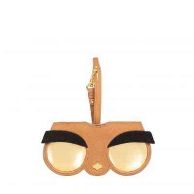 ANY DI 德國時尚真皮眼鏡包-憤怒鳥
