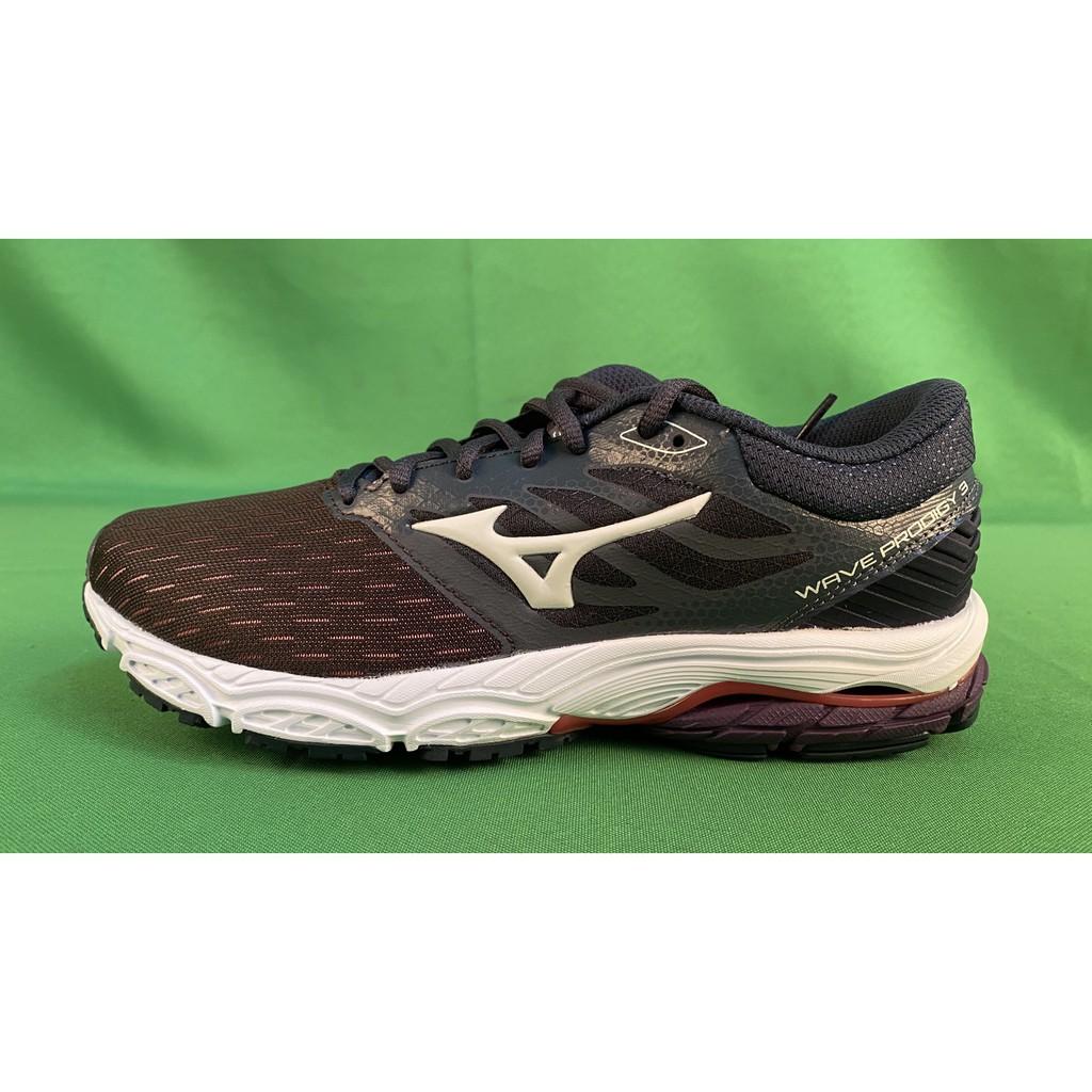 【宏明體育】美津濃 MIZUNO WAVE PRODIGY 3 女慢跑鞋 J1GD201060