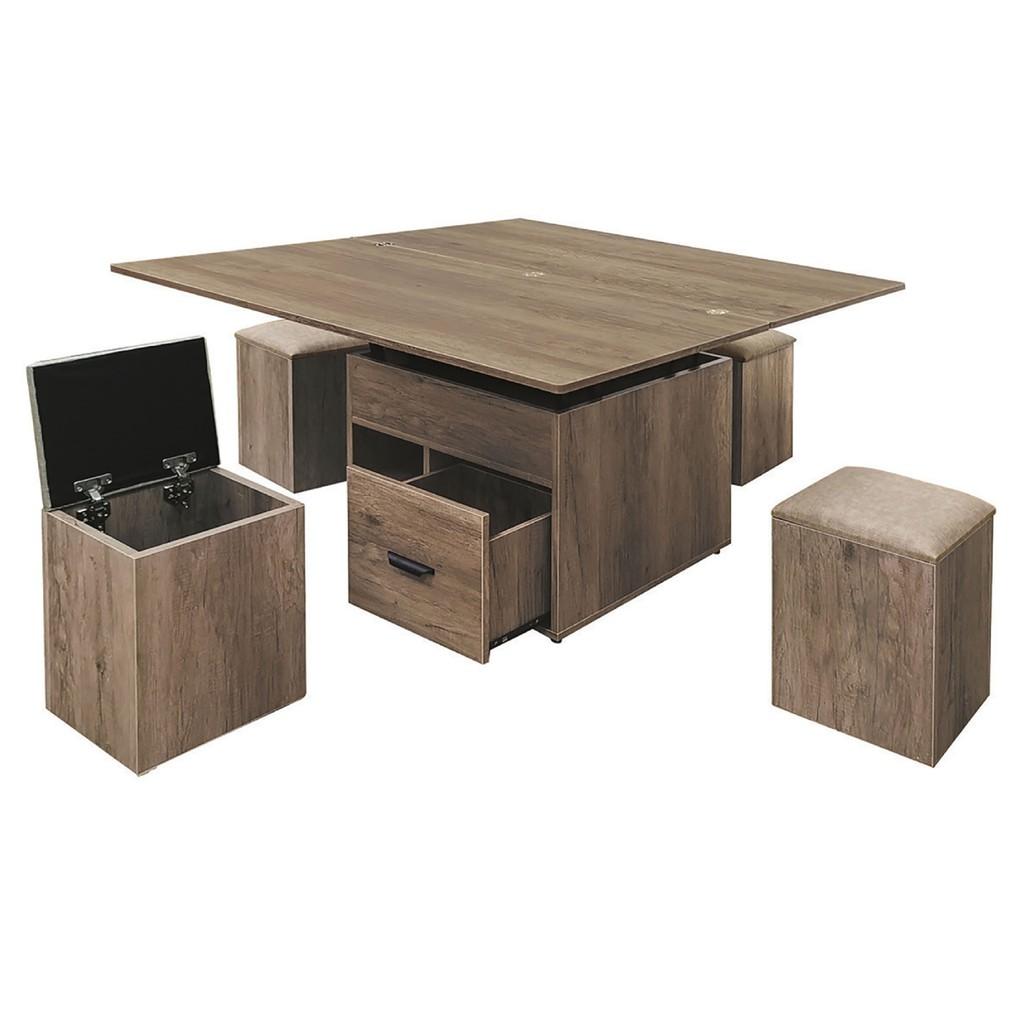【120.5cm大茶几-K42-54】實木原木玻璃 大理石長方桌 大小邊几 圓桌 【金滿屋】