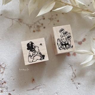 krimgen 印章 Cat and Girl /   Poppy Flower 臺中市