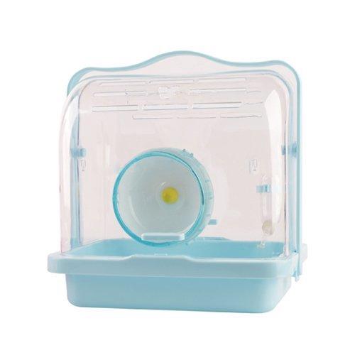 CARNO《 360°透明水晶鼠籠-藍色|粉紅色》倉鼠/囓齒類小動物適用『WANG』