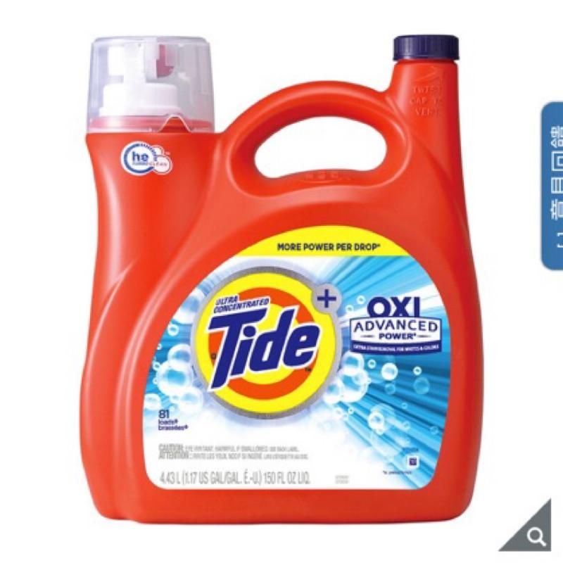 好市多 Tide 汰漬 OXI亮白護色洗衣精 4.43公升 costco 好市多