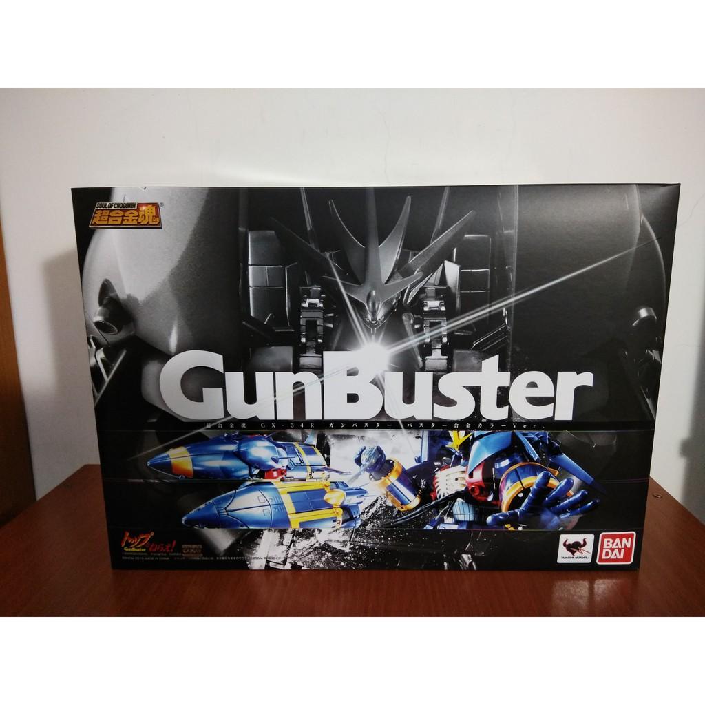 萬代 BANDAI 超合金魂 GX-34R 勇往直前 鋼巴斯達 GunBuster
