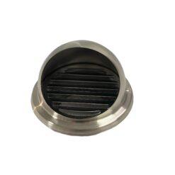4吋不銹鋼風管頭防雨防蟲用(一個)