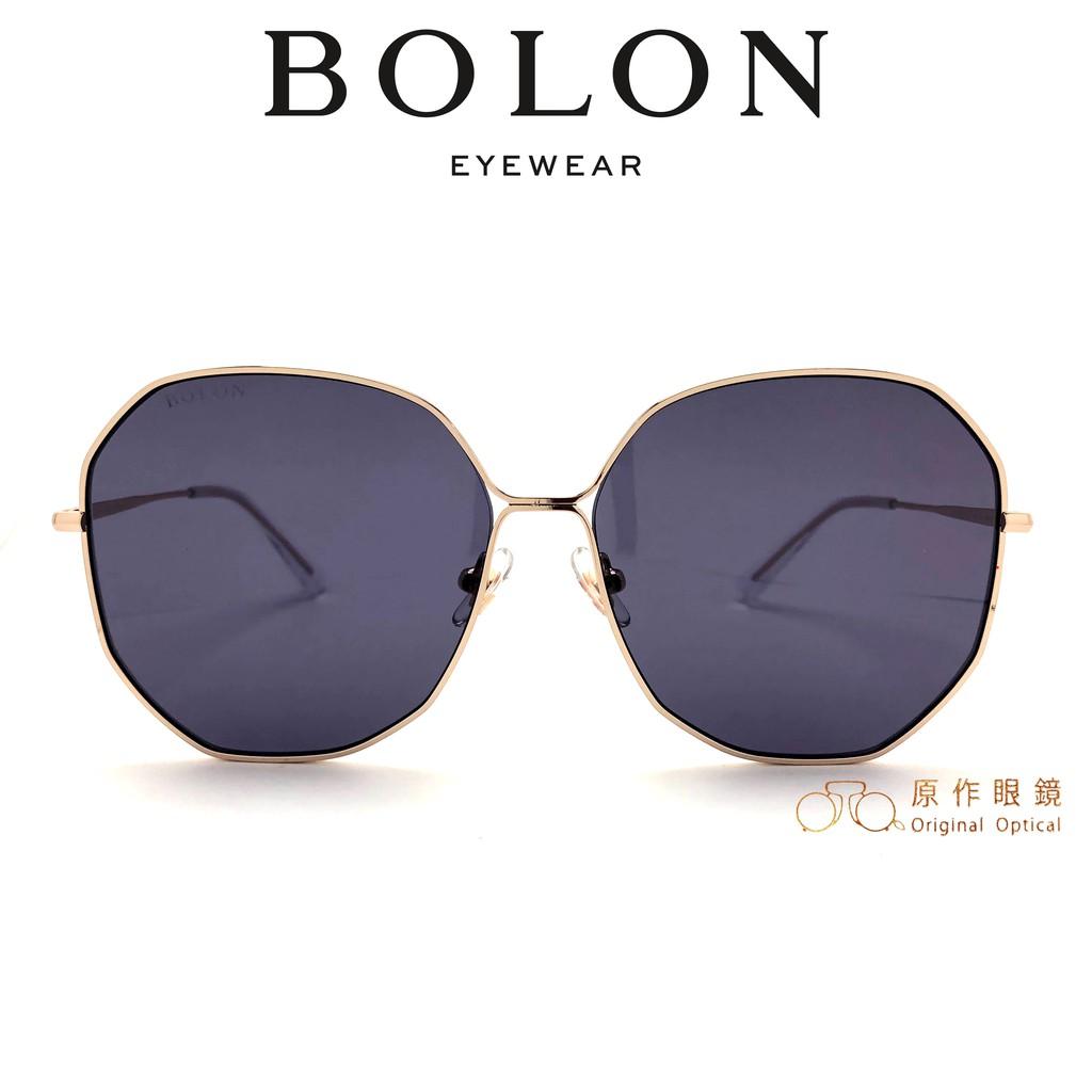 BOLON 太陽眼鏡 BL7061 A30 (金) 灰紫鏡片 墨鏡【原作眼鏡】