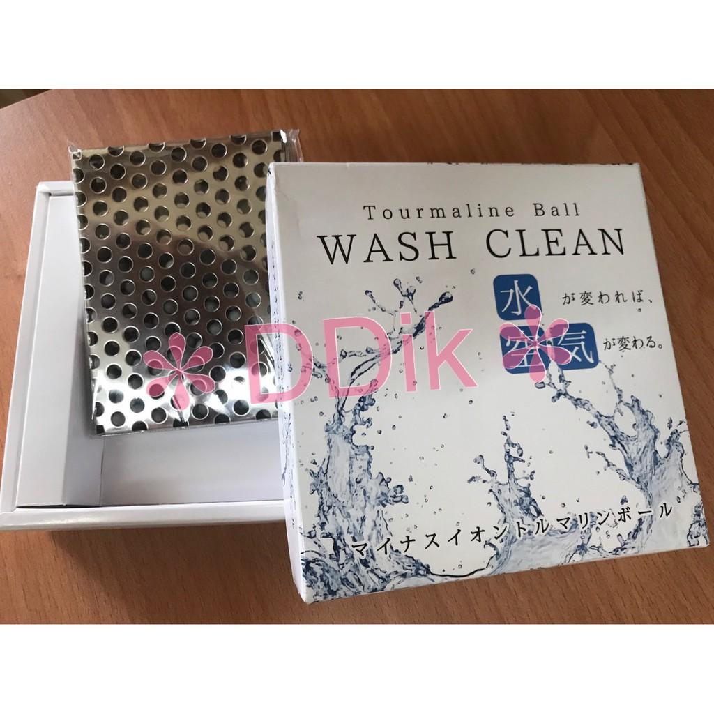 ✽ DDik ✽   日本WASH CLEAN水空氣 淨水片 現貨  Tourmaline Ball 電器石球 水妙精