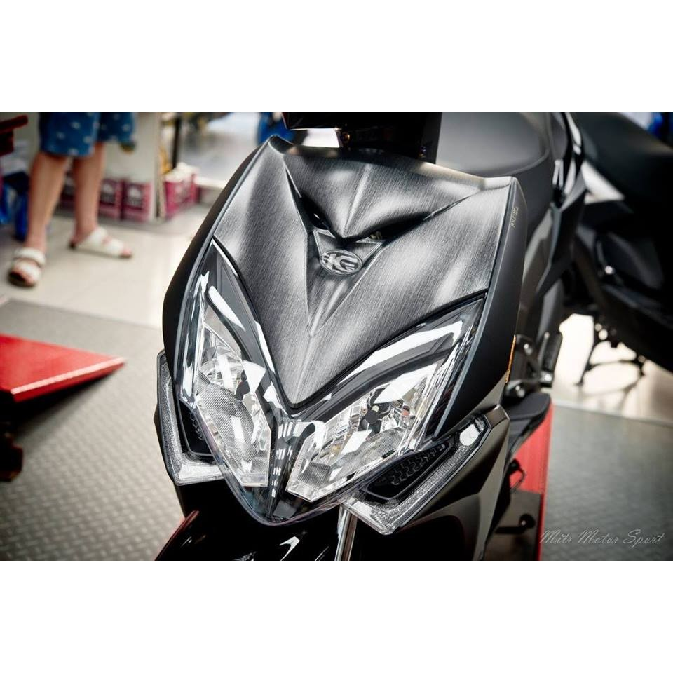 『SFD六扇門部品』EPIC-雷霆s Racing s 大盾牌 碳纖維卡夢水轉印藍紅黑金 髮絲紋
