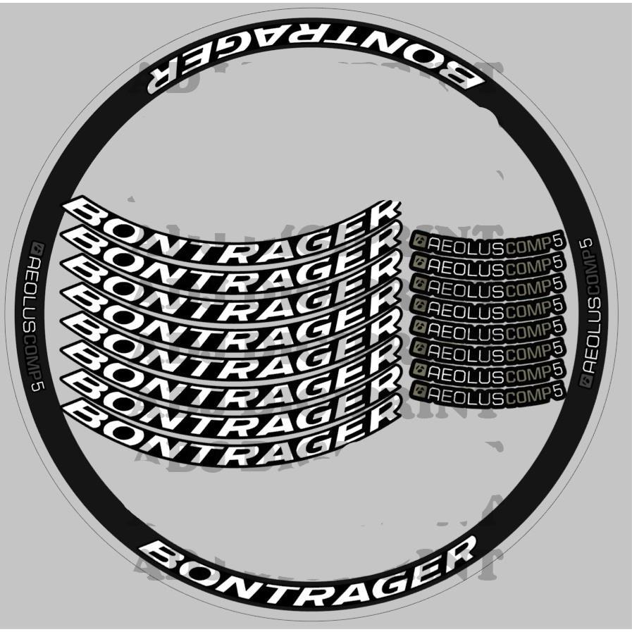 Bontrager Aeolus Comp5 貼花貼紙乙烯基印刷
