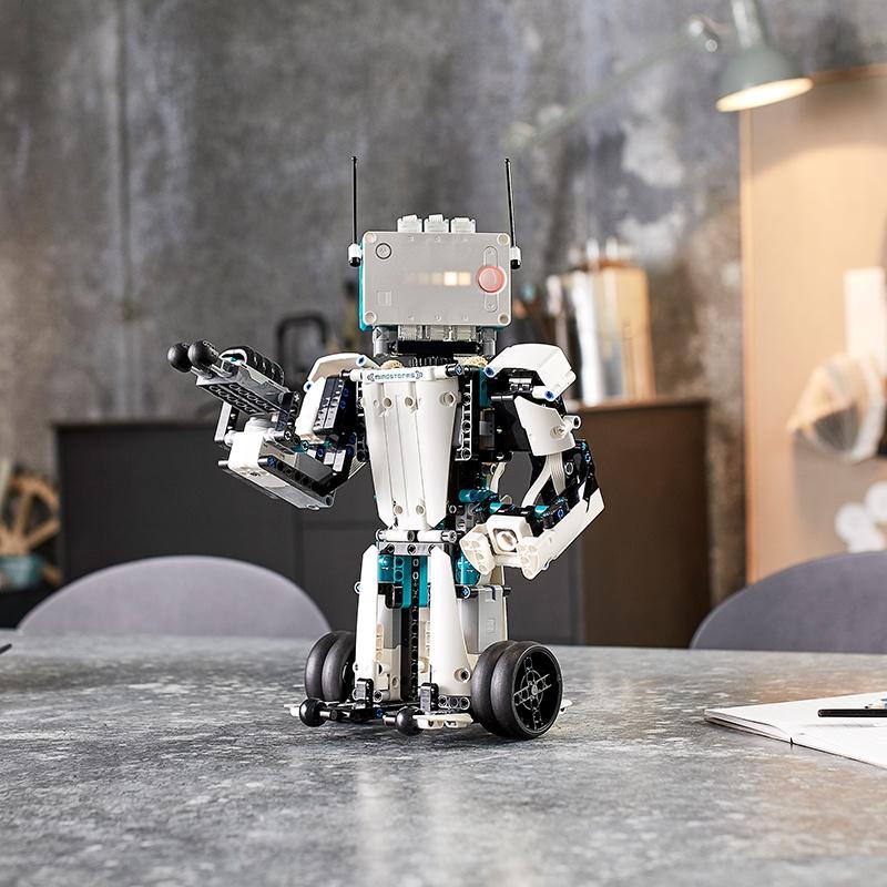 LEGO樂高積木5合1頭腦風暴編程機器人發明家51515高難度收藏玩具