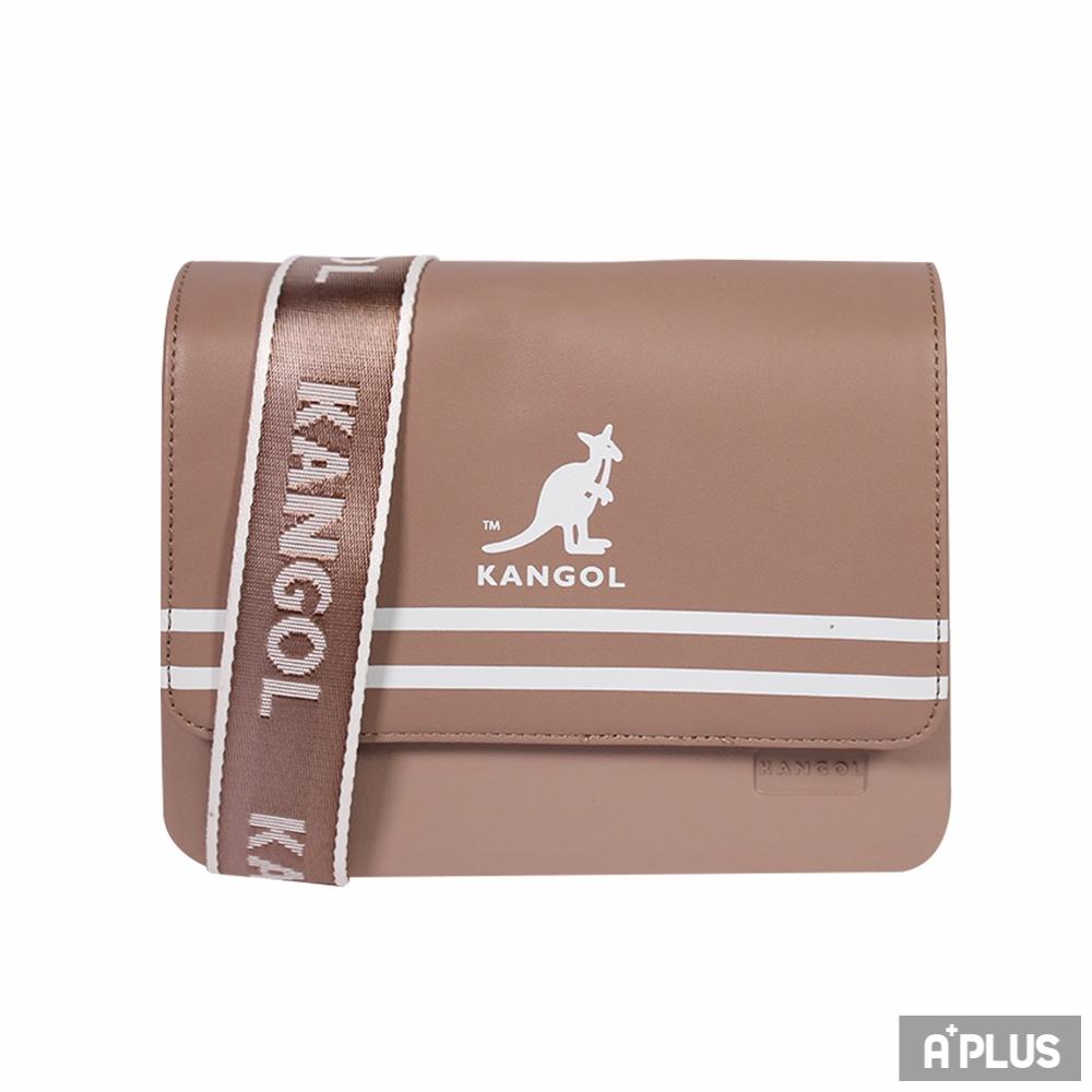 KANGOL 側背包(褐色) - 6025300231