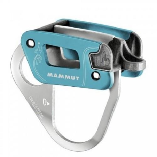MAMMUT Bionic Alpine Belay 確保器/豬鼻子 藍灰