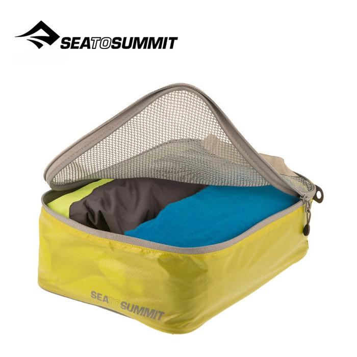 【Sea To Summit 澳洲】旅行打理包 衣物打理包【S號】萊姆綠/淺灰 (ATLGMBS)