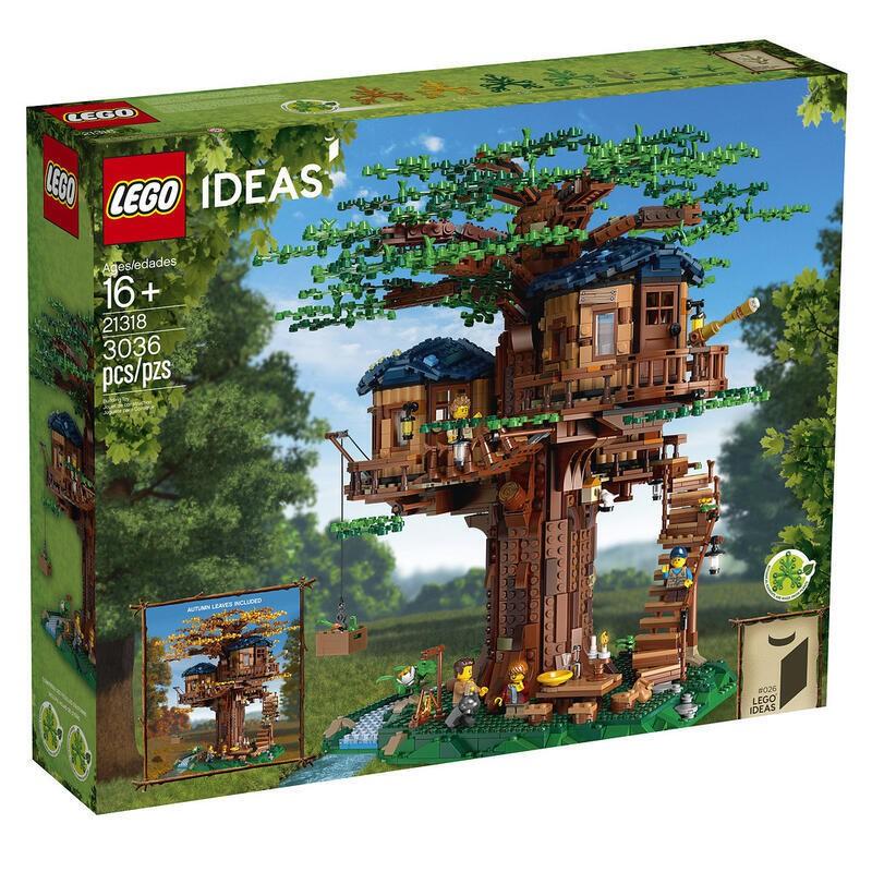 正版授權 LEGO 樂高 積木 IDEAS創意系列 LEGO 21318 樹屋