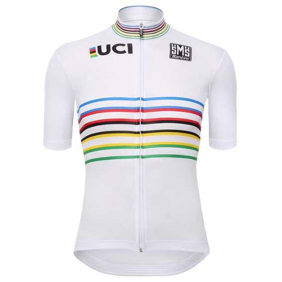 SANTINI UCI 世界冠軍 紀念 限量 車衣 環法 環義 白衫
