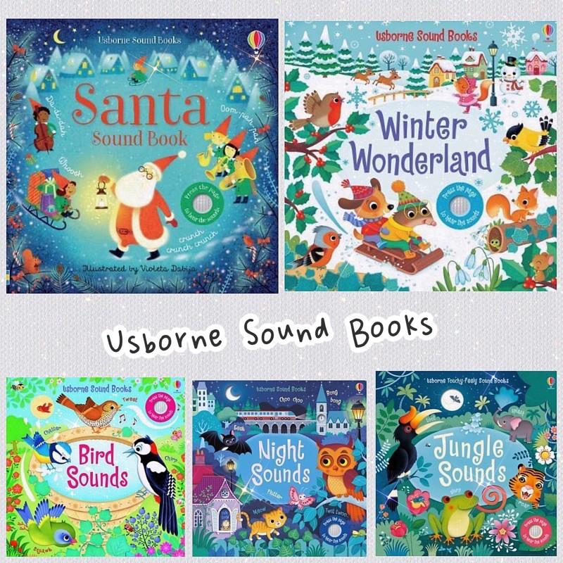 現貨✨可愛讀冊。✨ Usborne Bird Sounds/Winter Wonderland Sound Book