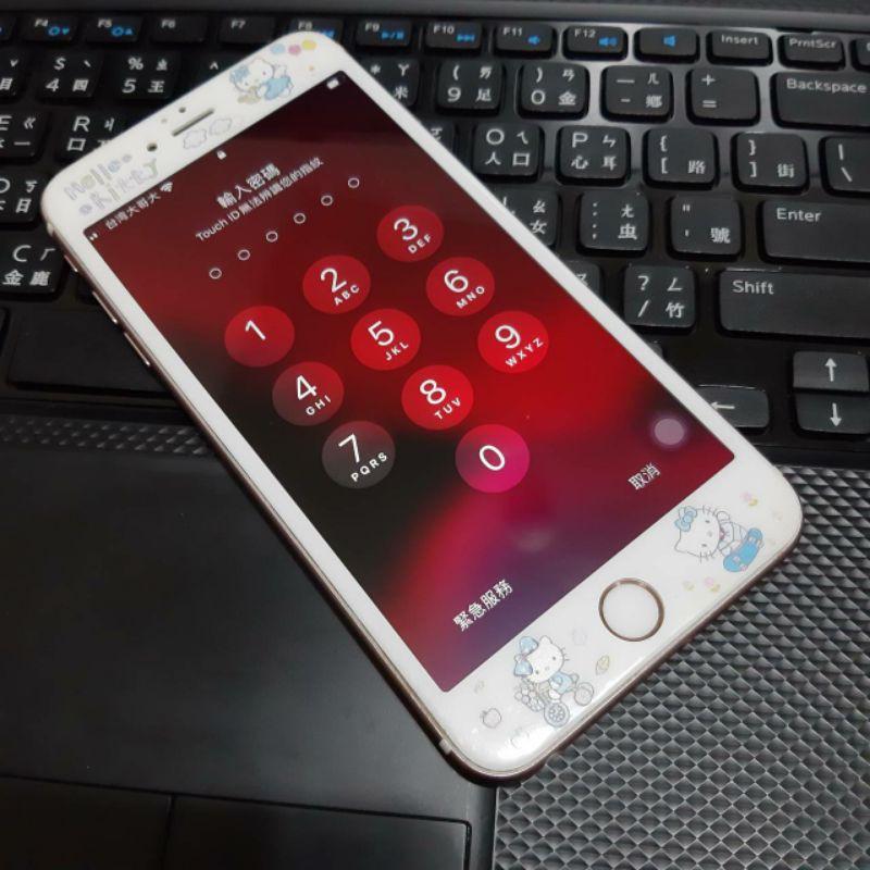 自售 二手 iPhone6s plus 64G 玫瑰金 8.5成新 功能按鍵皆正常 女用機
