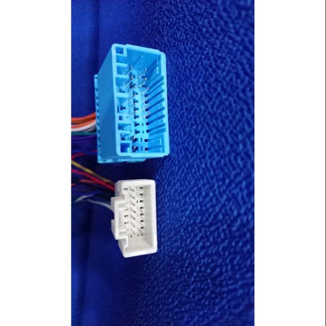 本田 Honda CRV 2 C-RV 2 汽車音響主機改他牌主機 保留原廠電源喇叭線 母頭轉接線